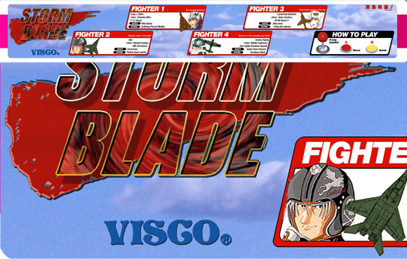 Custom English movestrip for Storm Blade by VISCO added to artwork section!