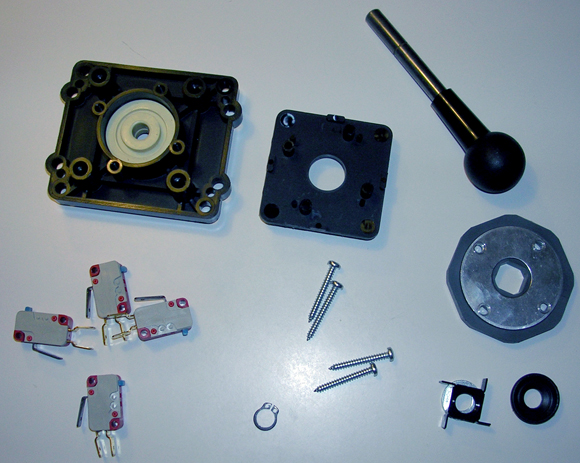 SUZO Rubber edition exploded view
