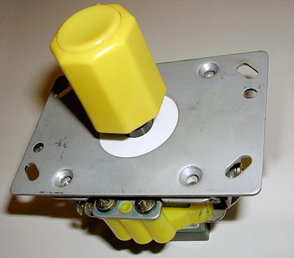 Seimitsu LS-30 aka SNK Rotary joystick – my modifications
